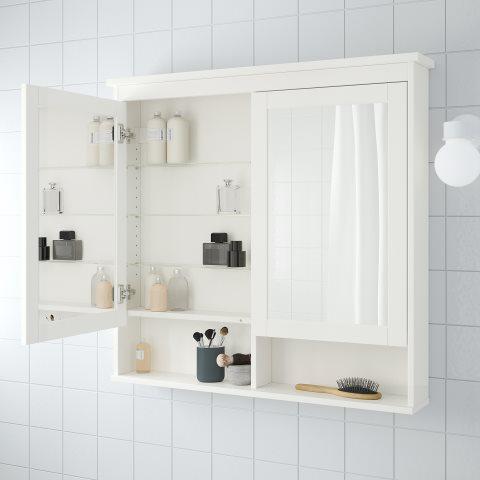 HEMNES/RATTVIKEN bathroom furniture, set of 5 | IKEA Cyprus