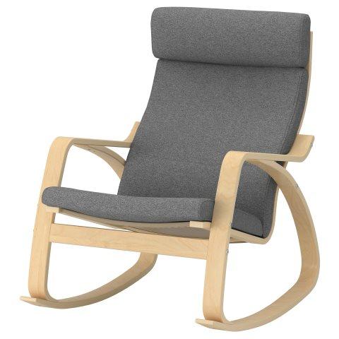 Poang Rocking Chair Grey Ikea Cyprus