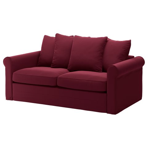 Remarkable Gronlid 2 Seat Sofa Bed Red Ikea Cyprus Pabps2019 Chair Design Images Pabps2019Com
