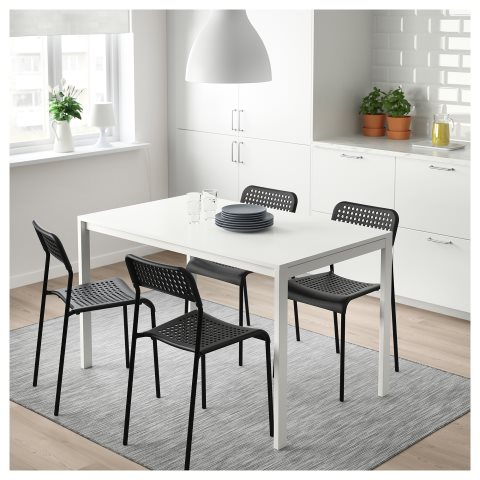 chairs table dining adde melltorp sets ikea share seats rooms room