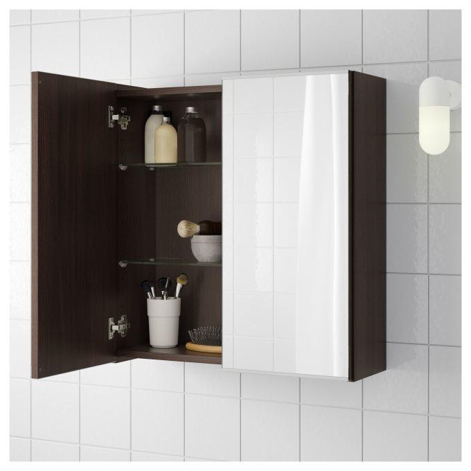 Lillangen Mirror Cabinet With 2 Doors Ikea Cyprus