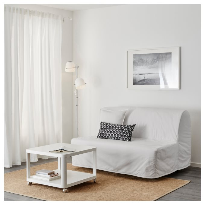 Lycksele Lovas Two Seat Sofa Bed White Ikea Cyprus