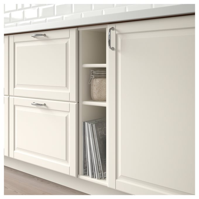 Cabinet Renewal Products: TORNVIKEN Open Cabinet, White