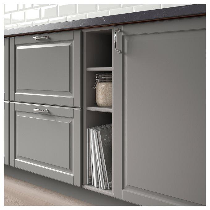 Cabinet Renewal Products: TORNVIKEN Open Cabinet, Grey