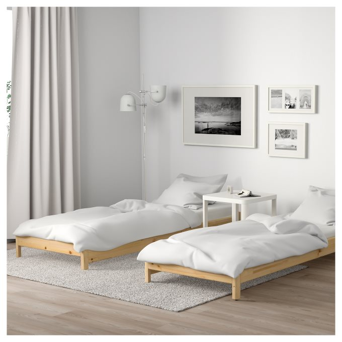 Utaker Stackable Bed With 2 Mattresses Ikea Cyprus