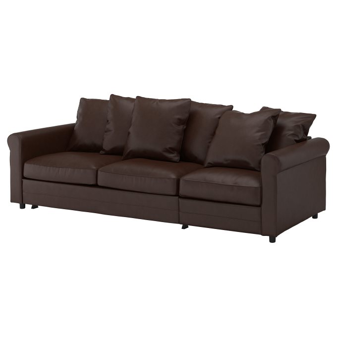GRONLID 3-seat sofa-bed, Brown | IKEA Cyprus