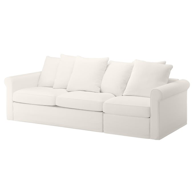 Incredible Gronlid 3 Seat Sofa Bed White Ikea Cyprus Pabps2019 Chair Design Images Pabps2019Com