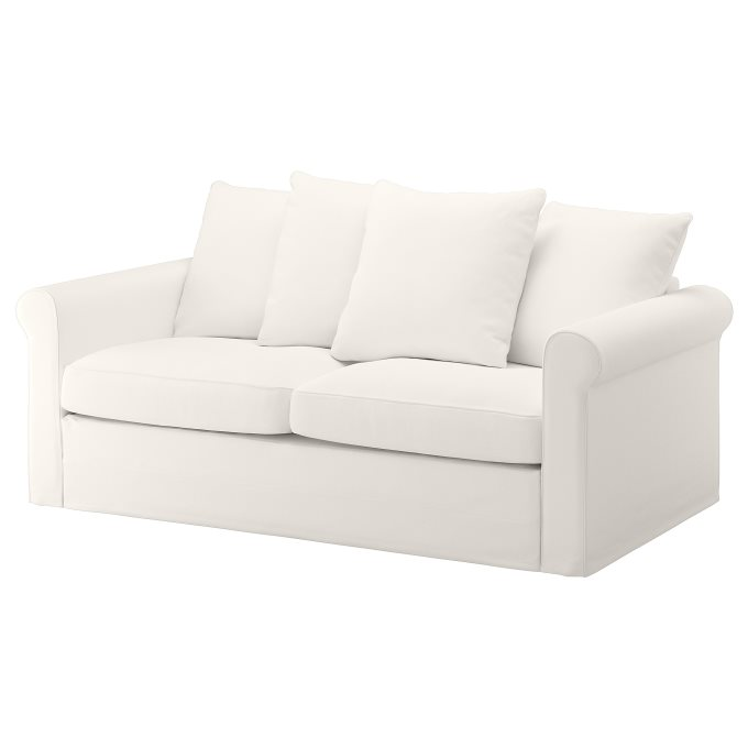 Astounding Gronlid 2 Seat Sofa Bed White Ikea Cyprus Pabps2019 Chair Design Images Pabps2019Com