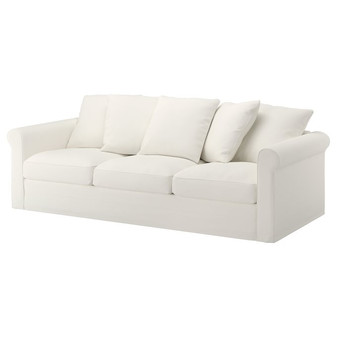 Amazing Gronlid 3 Seat Sofa White Ikea Cyprus Pabps2019 Chair Design Images Pabps2019Com