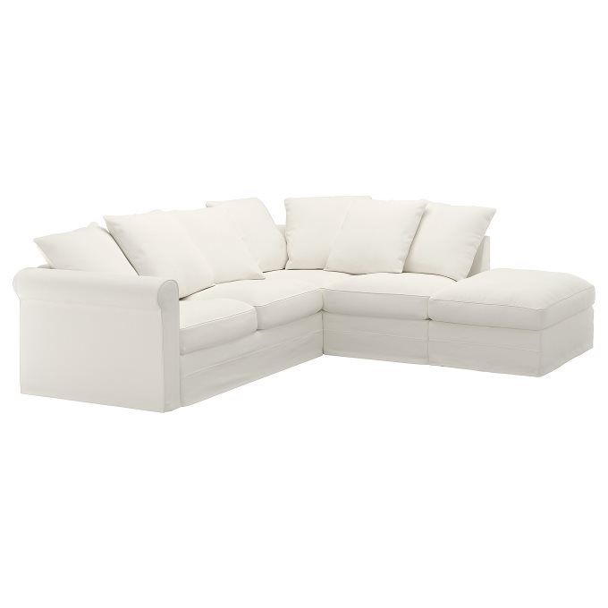 Excellent Gronlid Corner Sofa With Open End 4 Seat White Ikea Cyprus Pabps2019 Chair Design Images Pabps2019Com