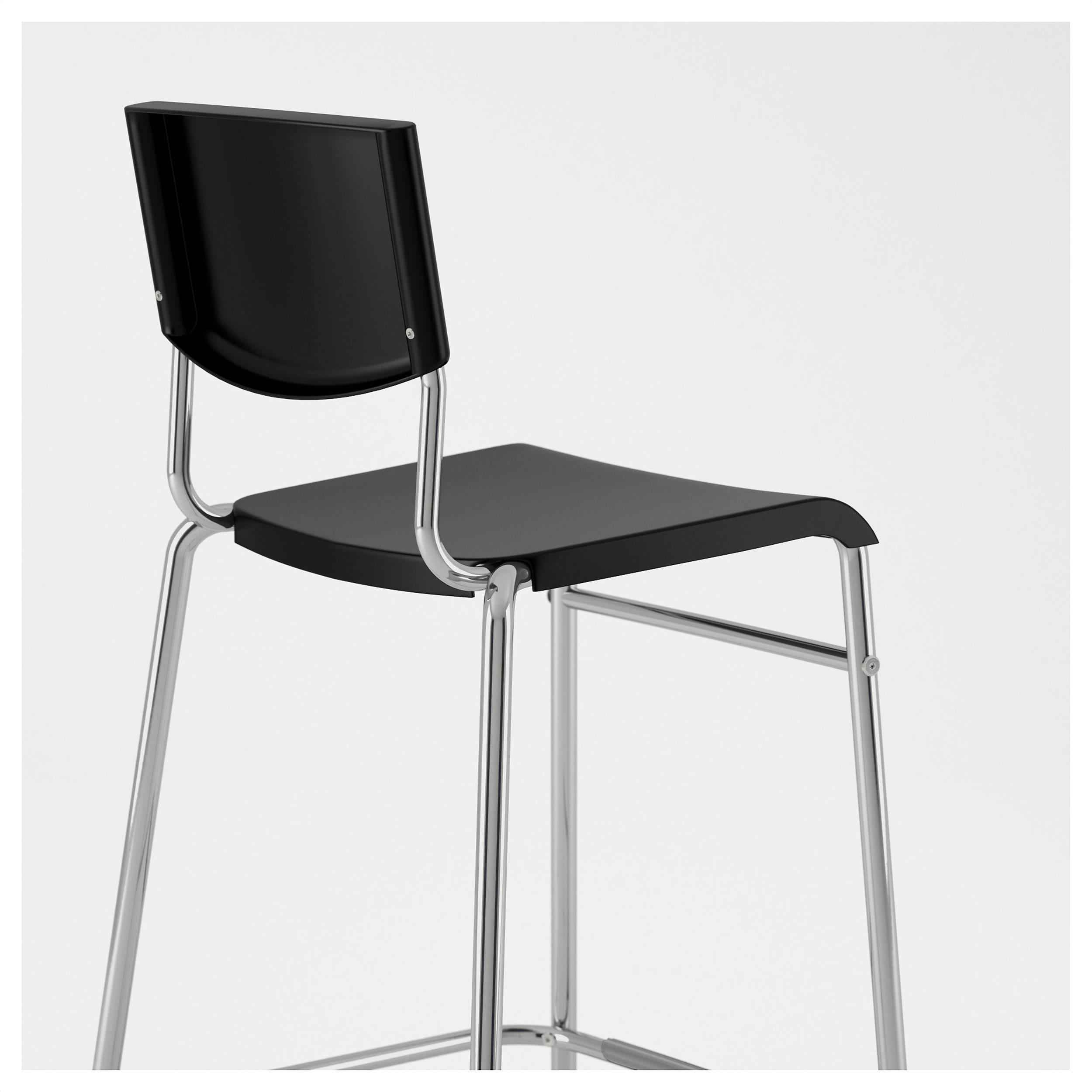 stig bar stool with backrest  ikea cyprus