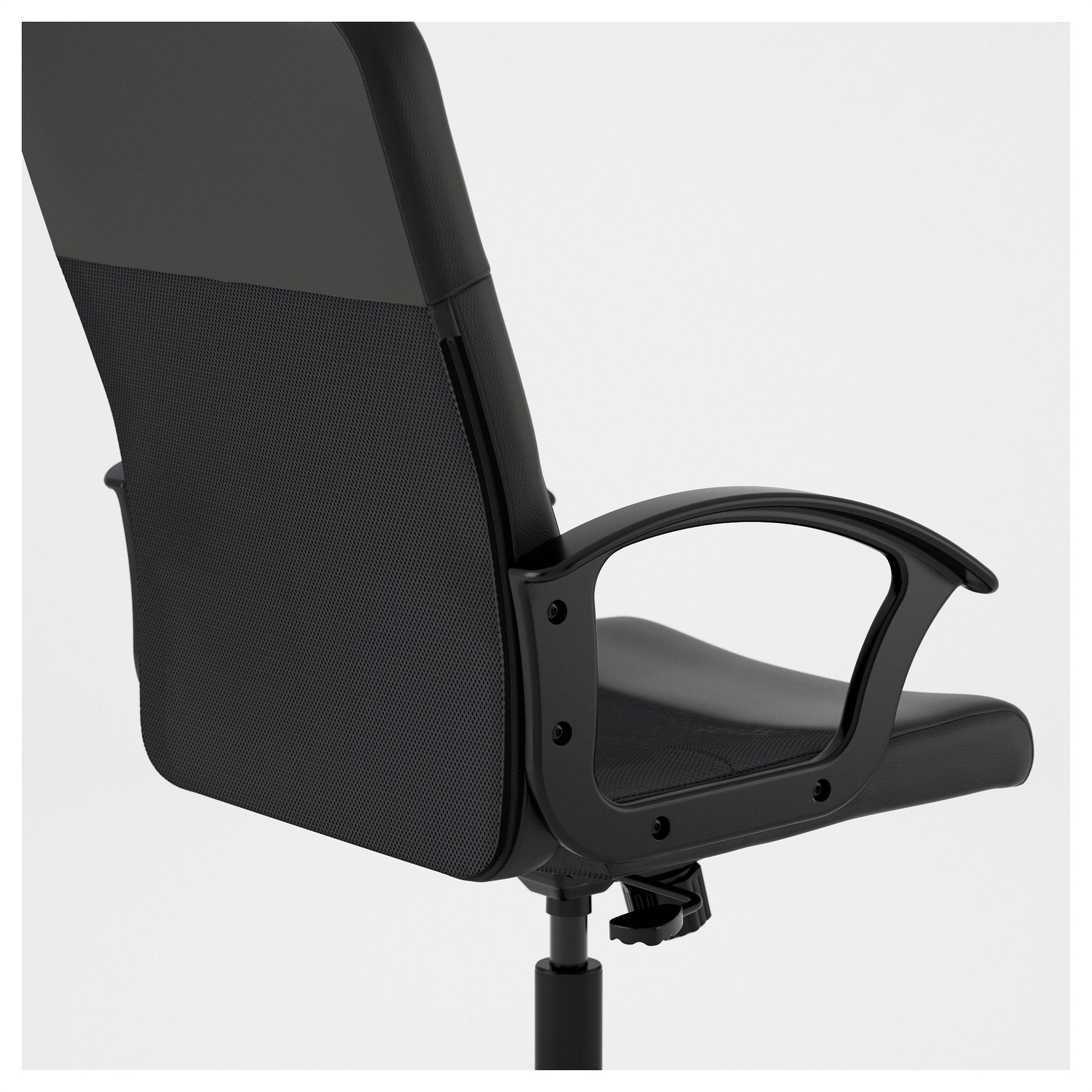 renberget swivel chair black  ikea cyprus